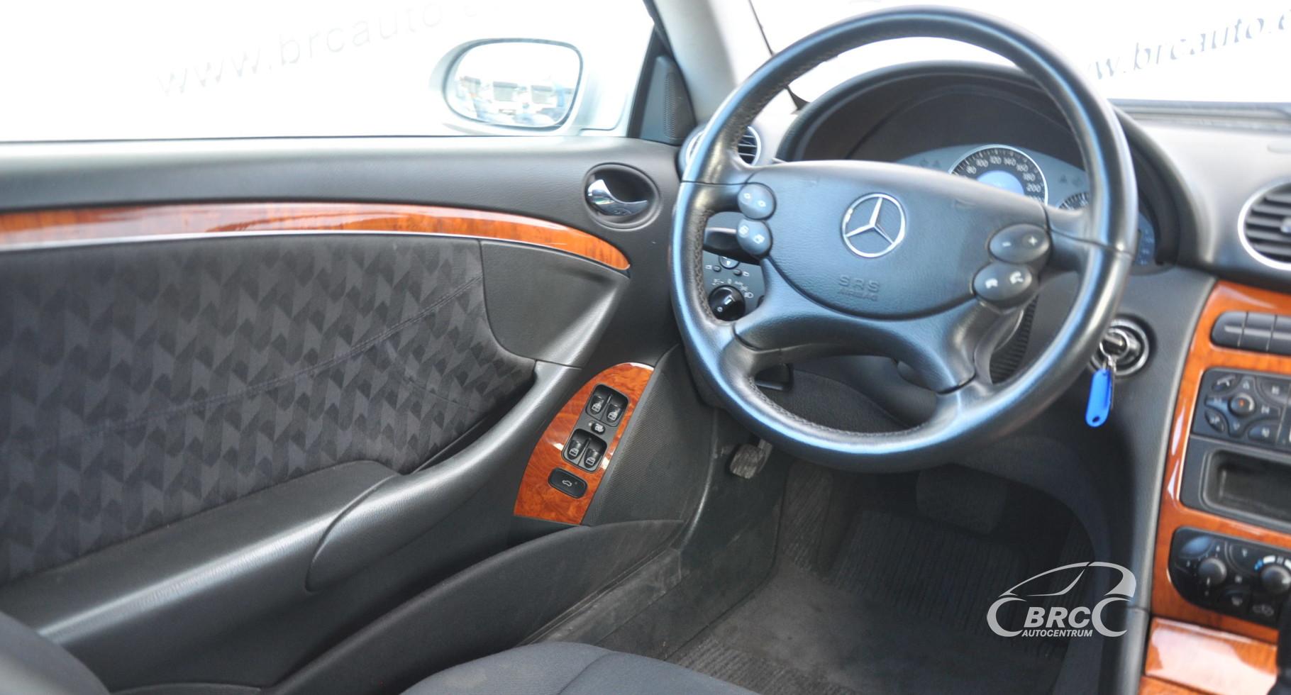 Mercedes-Benz CLK 320 Elegance Automatas Greičių dėžės defektas