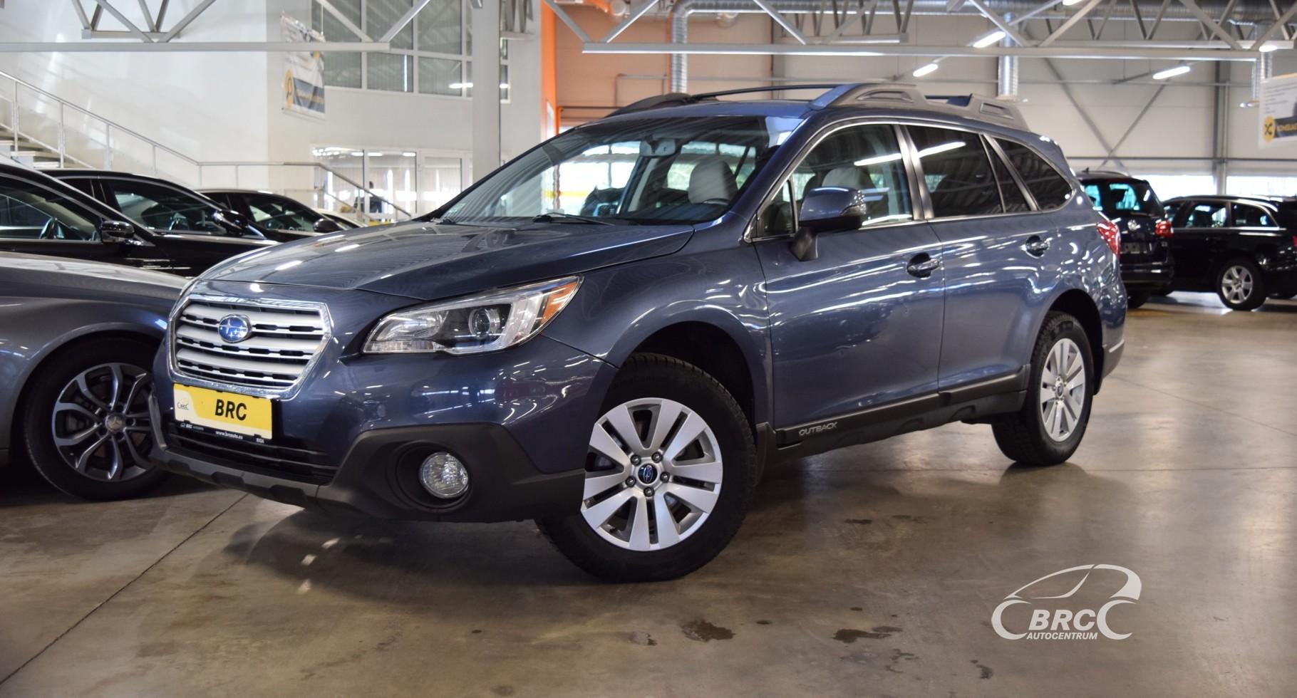 Subaru Outback Symmetrical AWD