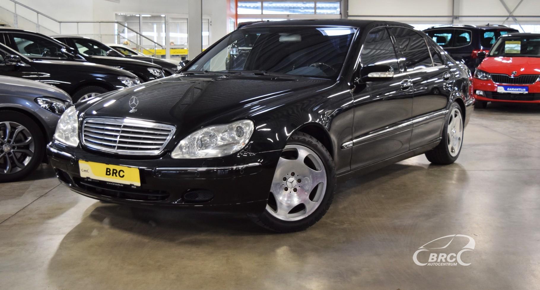 Mercedes-Benz S 600 V12
