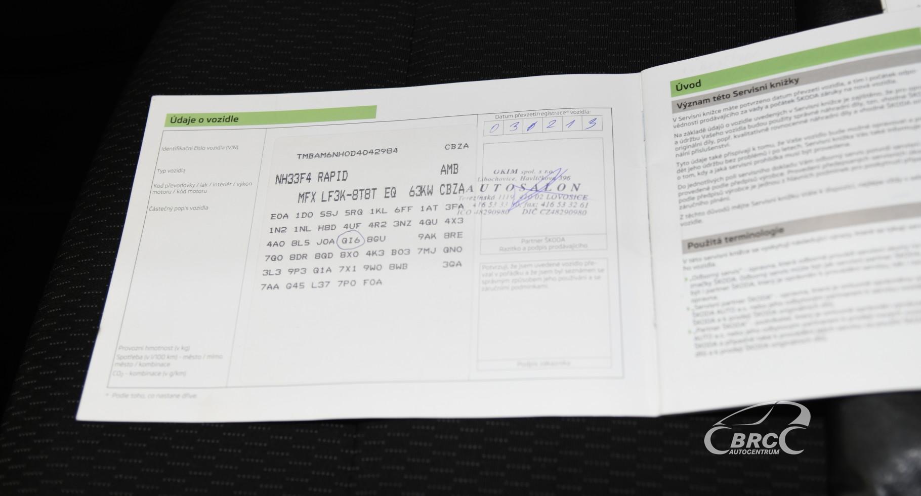Skoda Rapid 1.2 TSI Ambient