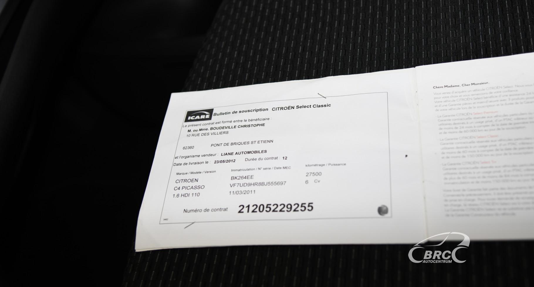 Citroen C4 Picasso 1.6 HDi Classic