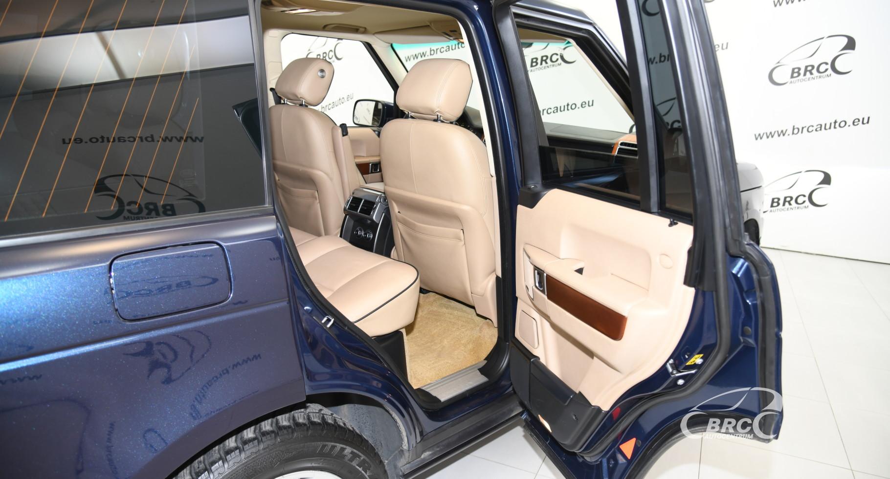 Land-Rover Range Rover 4.4 TDV8 HSE Automatas