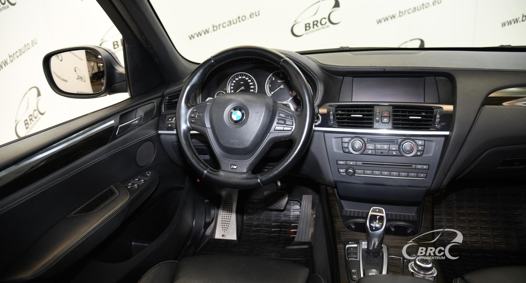 BMW X3 35d xDrive M-pack Automatas
