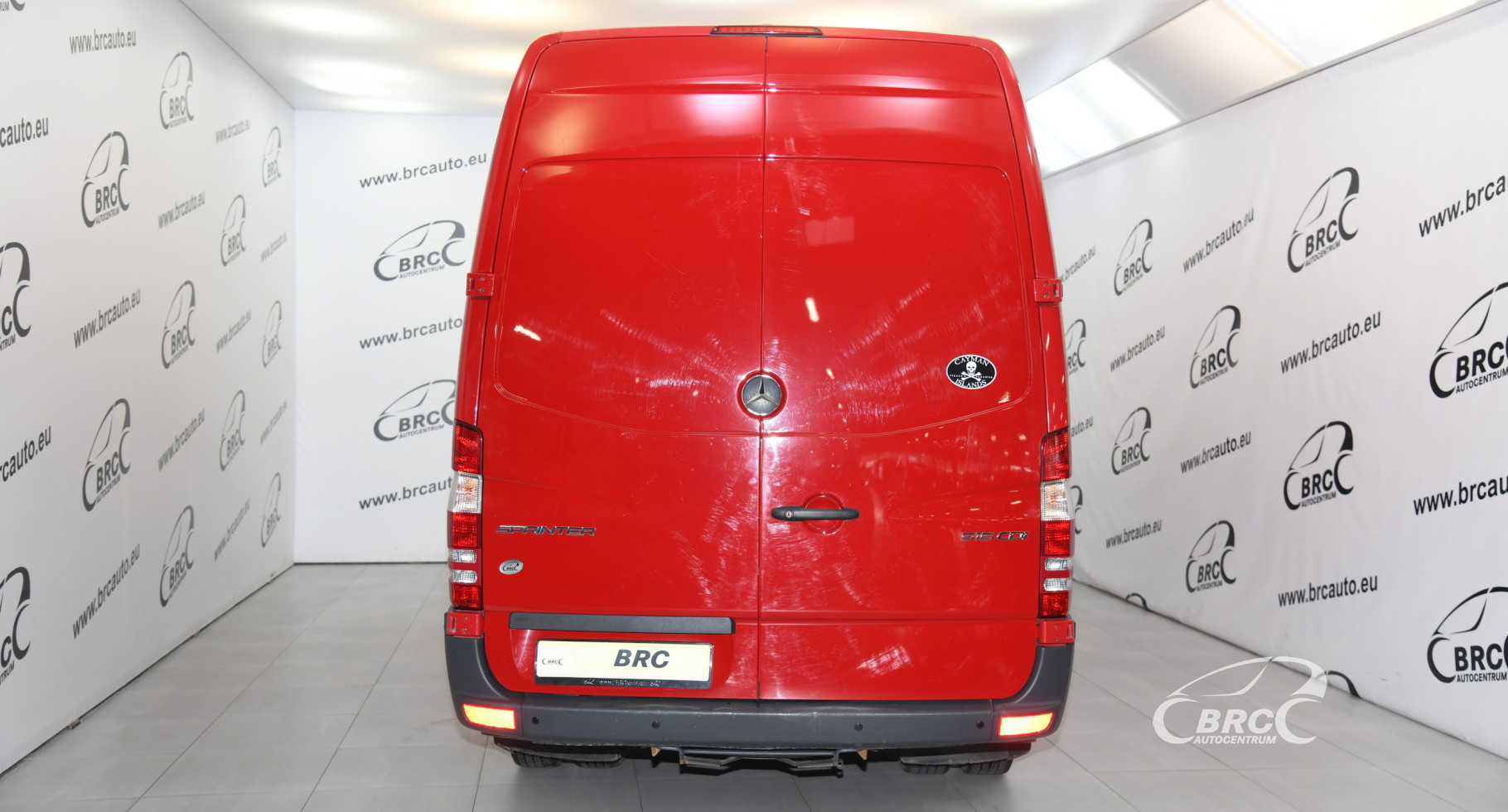 Mercedes-Benz Sprinter 516 CDI Maxi Sparco