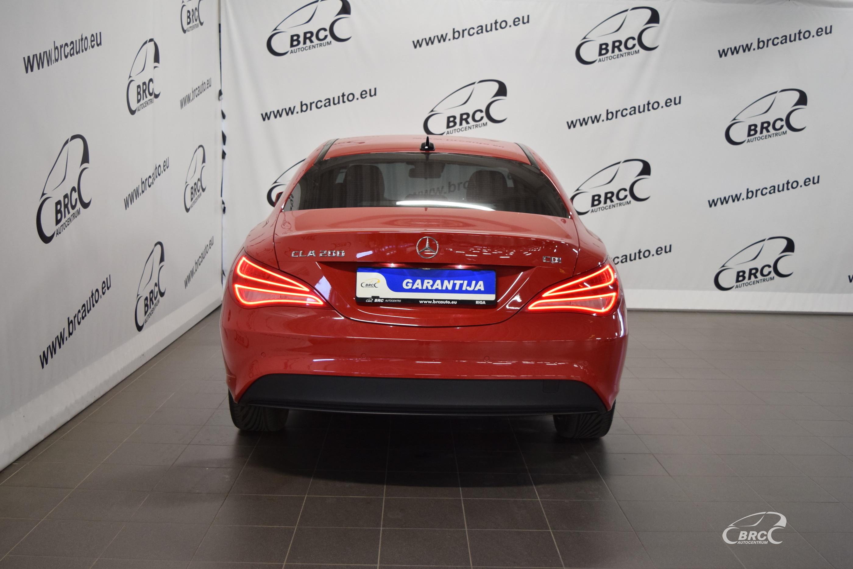 Mercedes-Benz CLA 200 CDI A/T