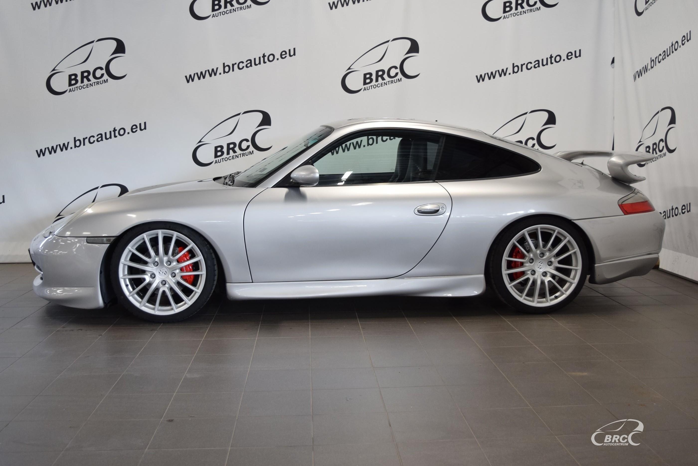 Porsche 996 GT3 Aero kit