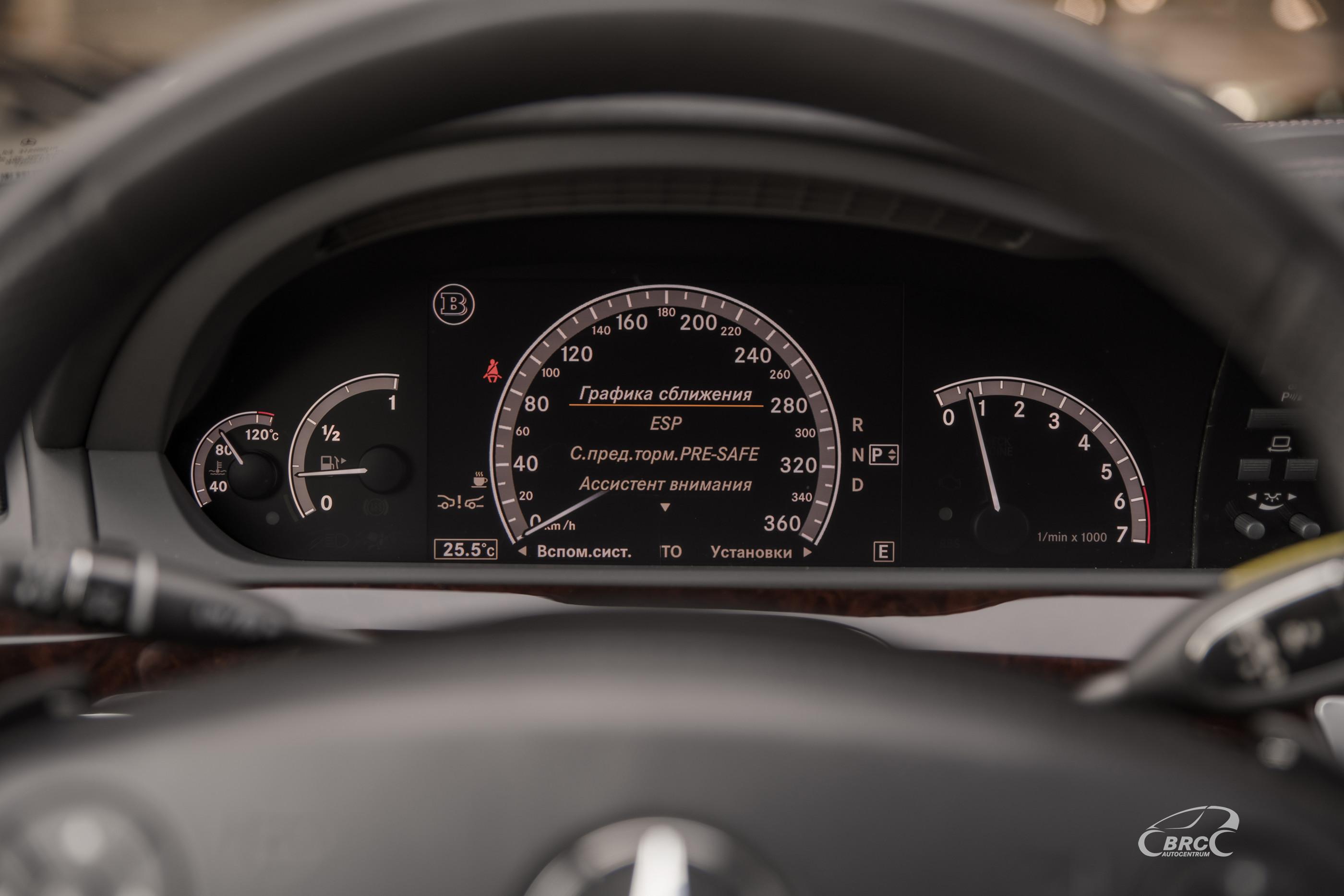 Mercedes-Benz S 600 Long Brabus SV12R BiTurbo