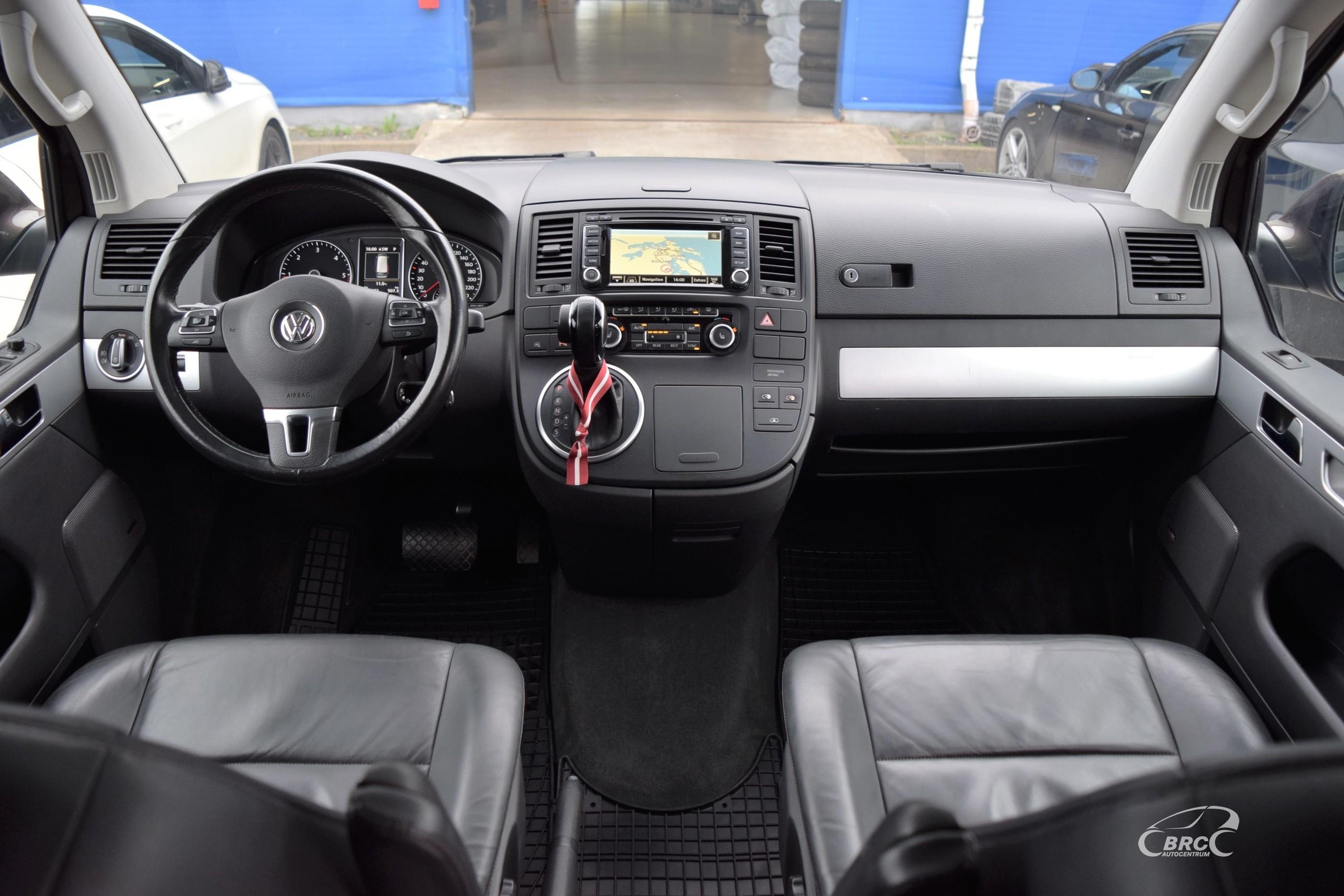Volkswagen T5 Multivan Highline 4motion DSG 7 seats