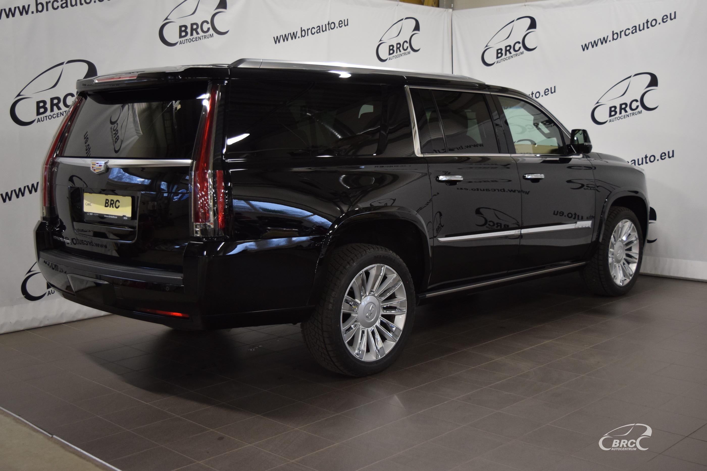 Cadillac Escalade ESV Platinium 7 seats