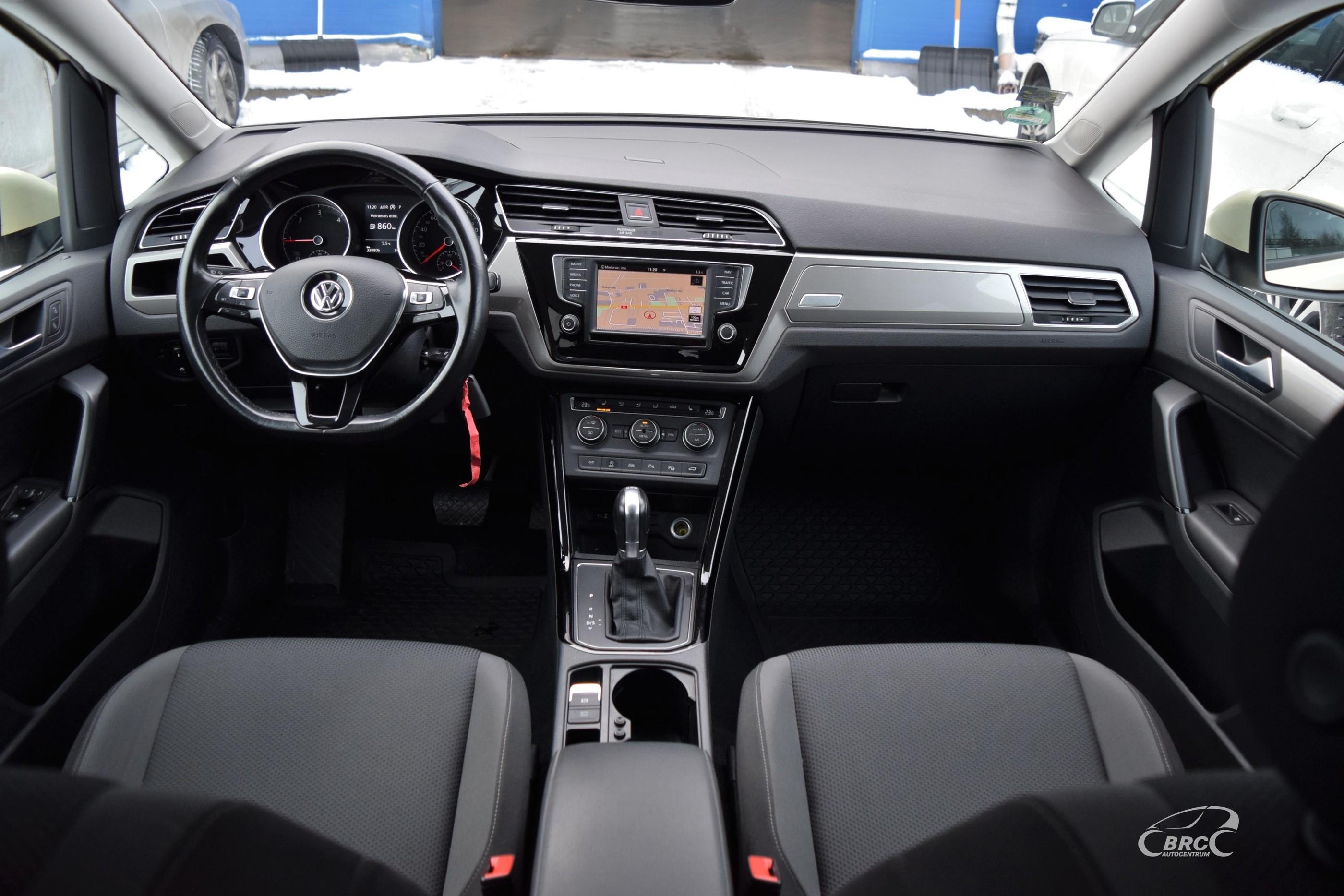 Volkswagen Touran 2.0TDI DSG 7seats