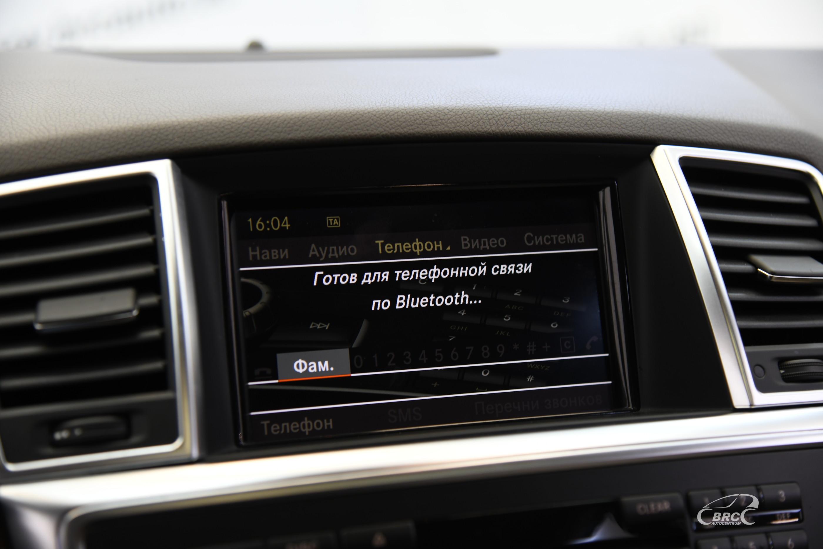 Mercedes-Benz ML 350 BLUETEC 4Matic Automatas