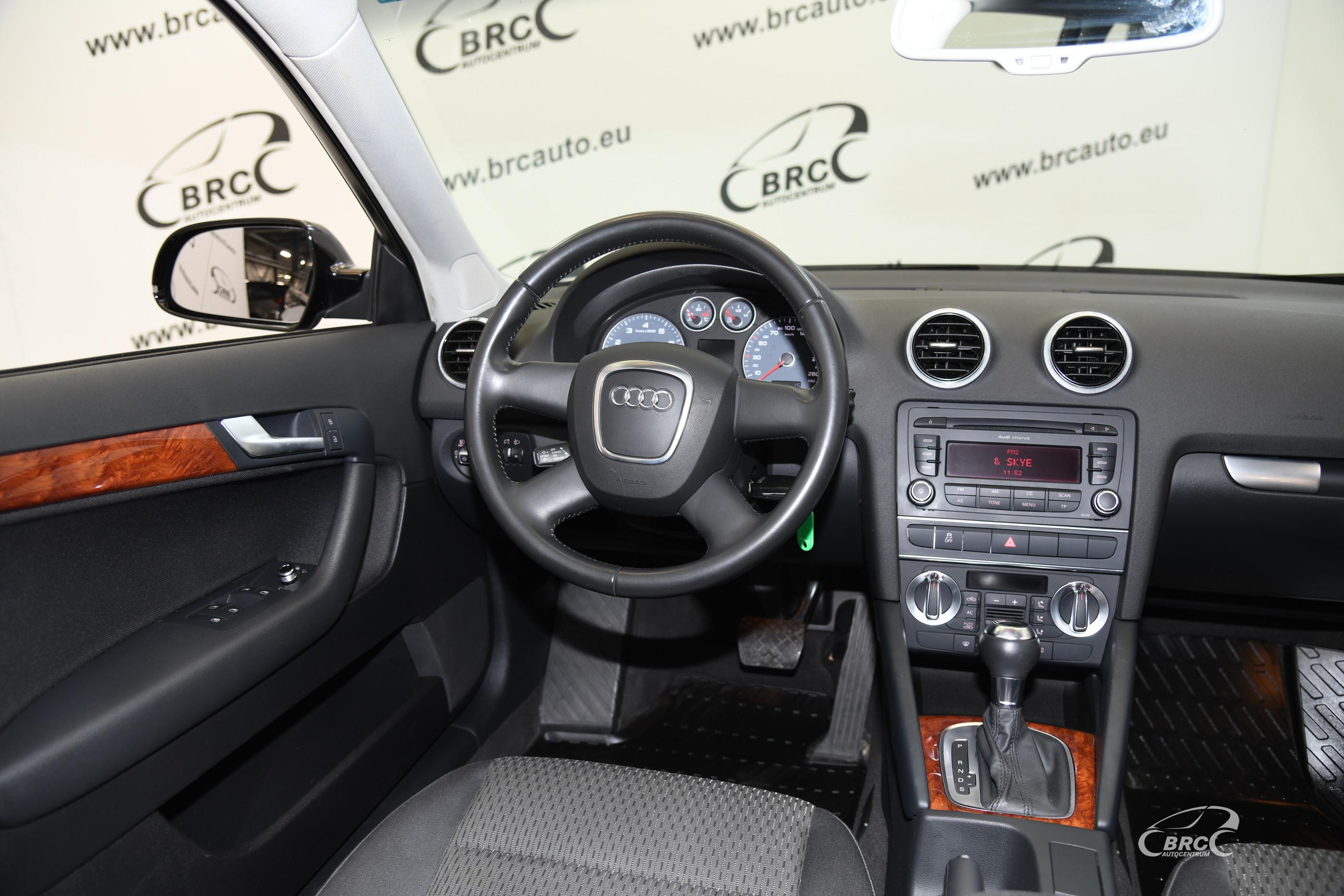 Audi A3 1.8 TFSI Automatas