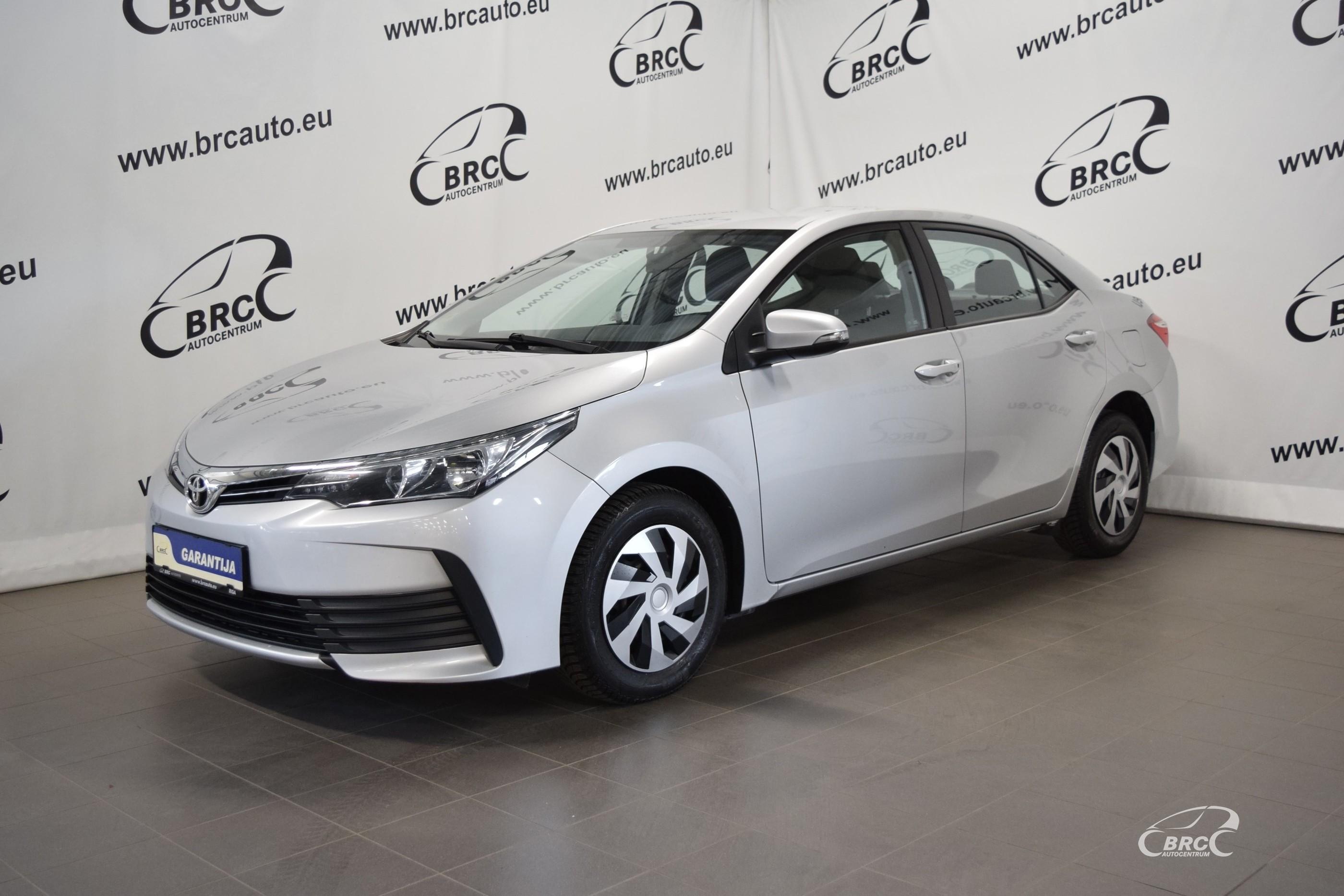 Toyota Corolla D-4D M/T