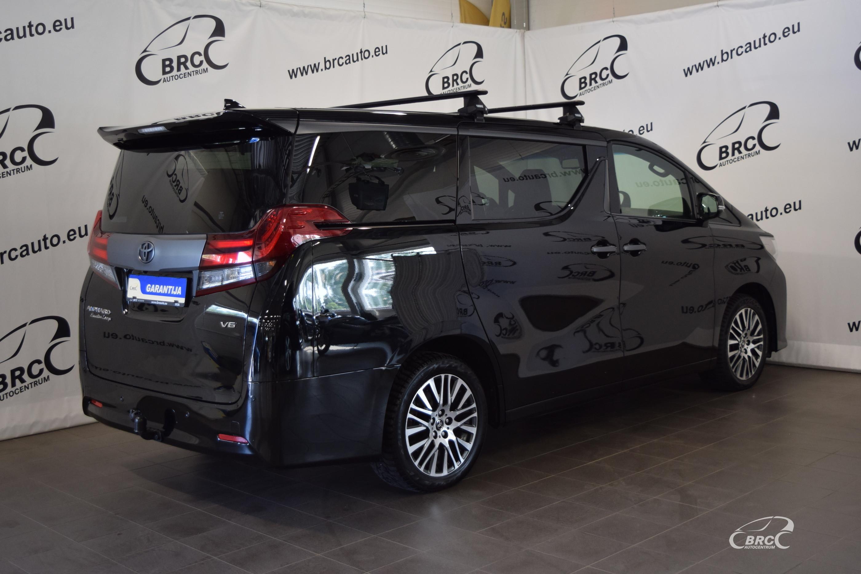 Toyota Alphard Executive Lounge V6 6 seats