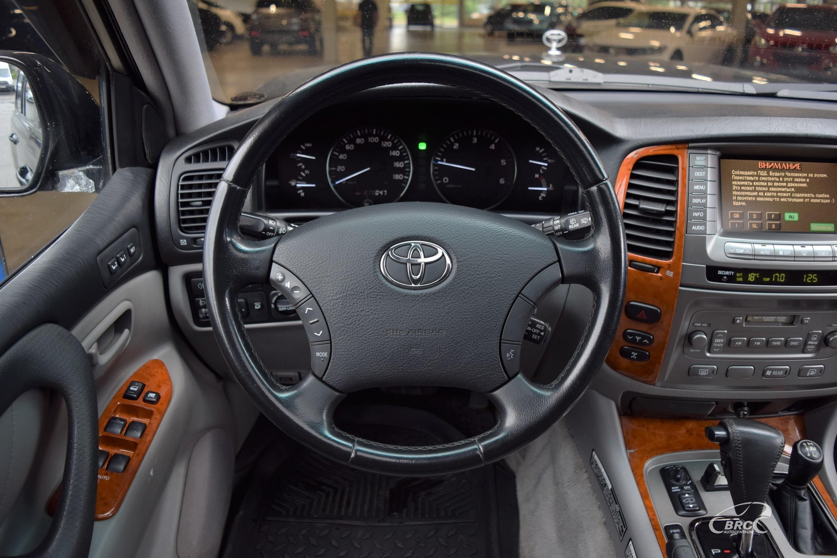 Toyota Land Cruiser A/T