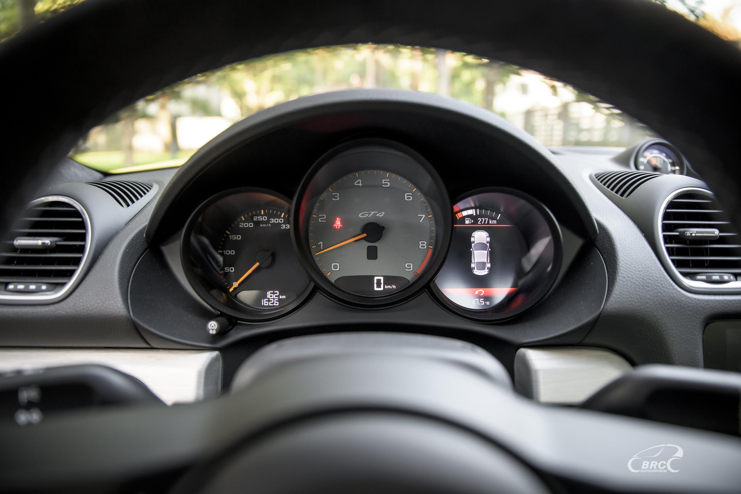 Porsche 718 Cayman GT4 *NEW* 162 km