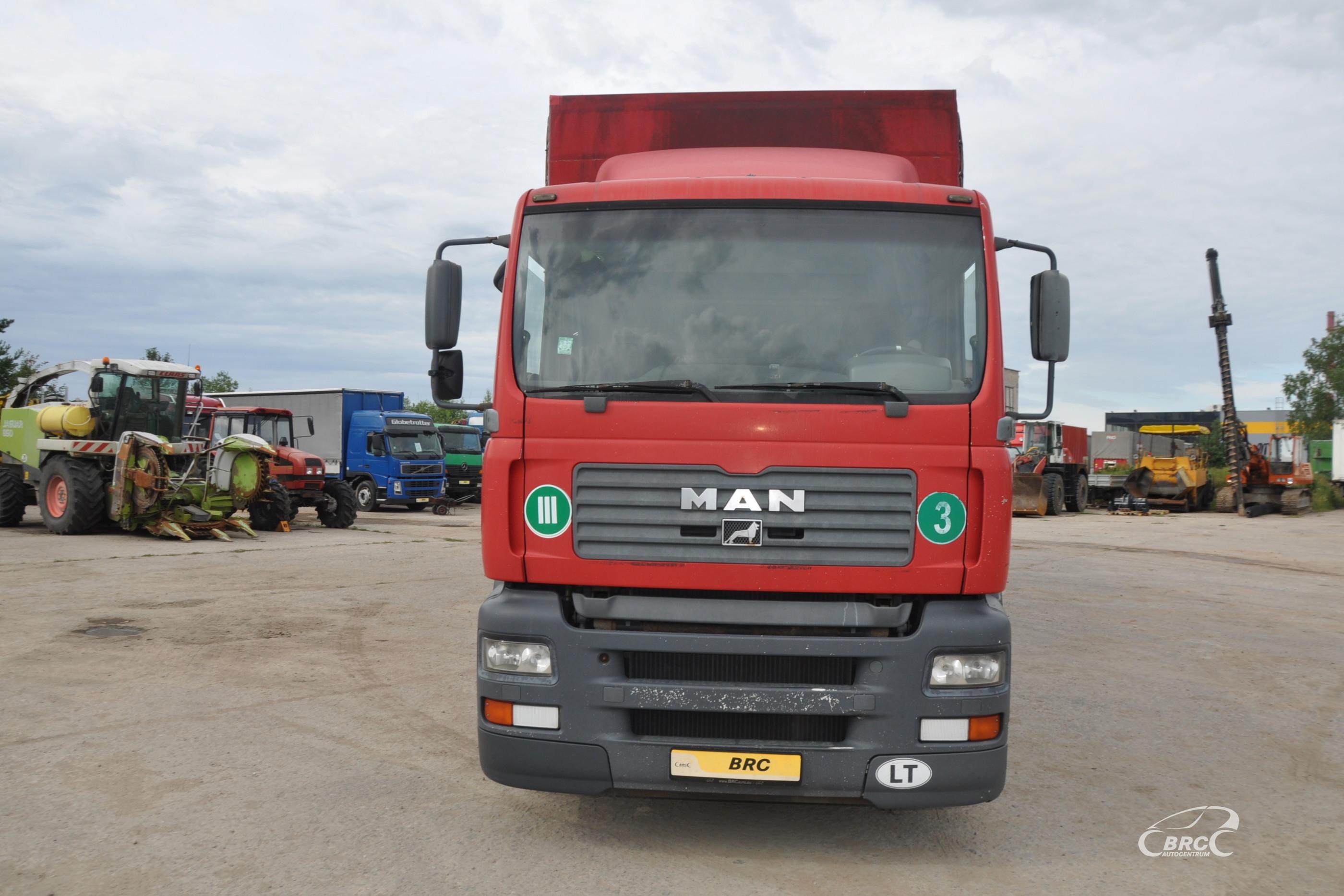 MAN 18.313 + trailer MADO
