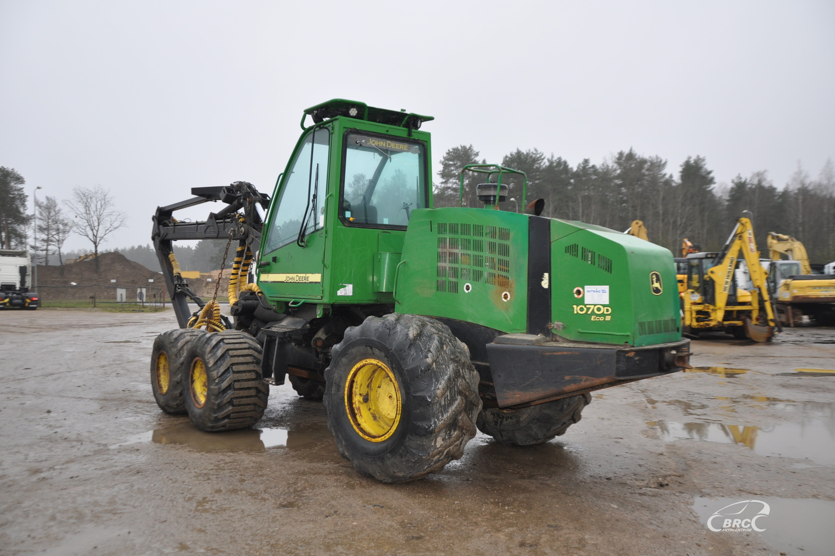 John Deere 1070 D, H754 2011