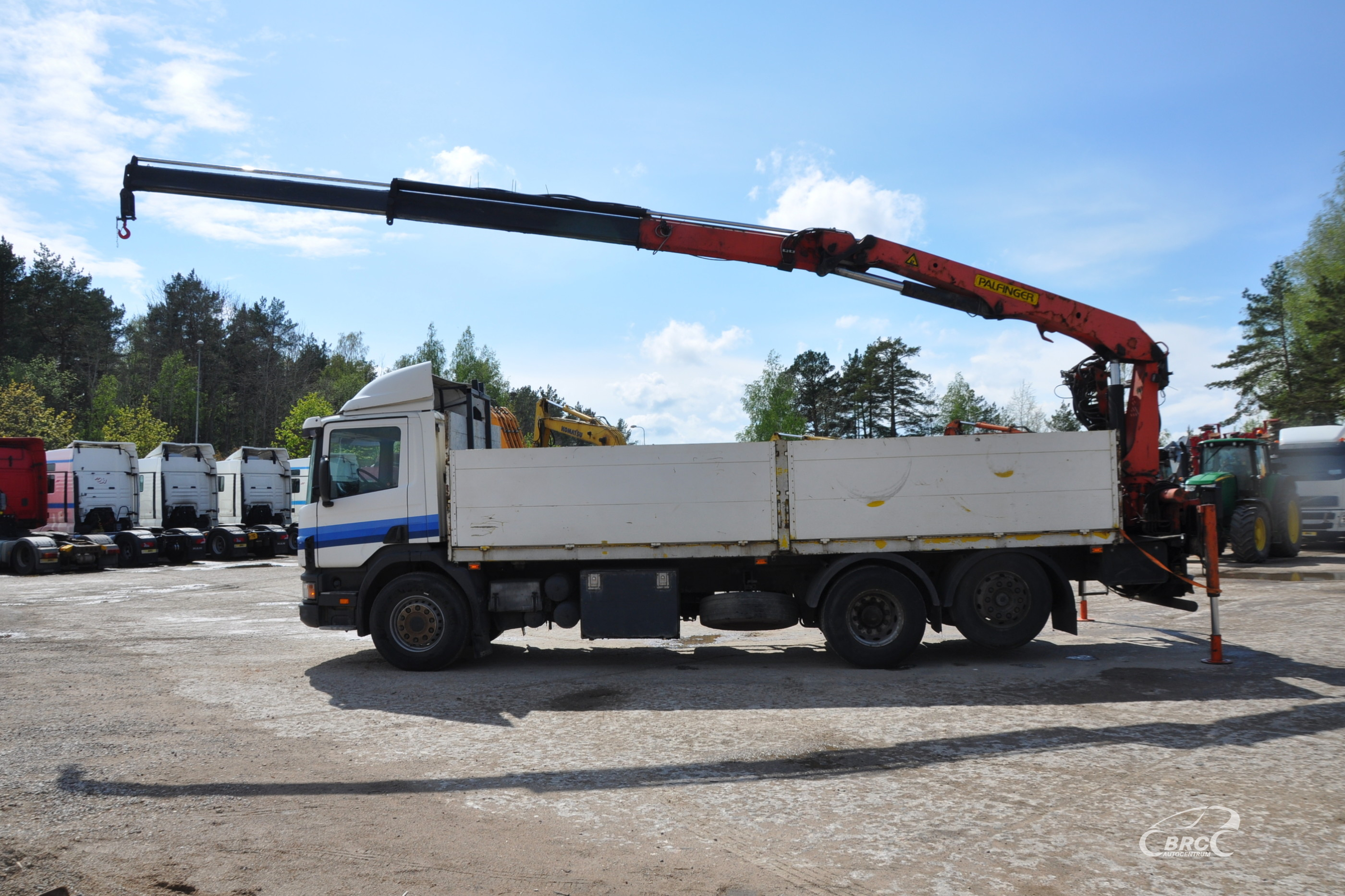 Scania P 114 PALFINGER PK14080L