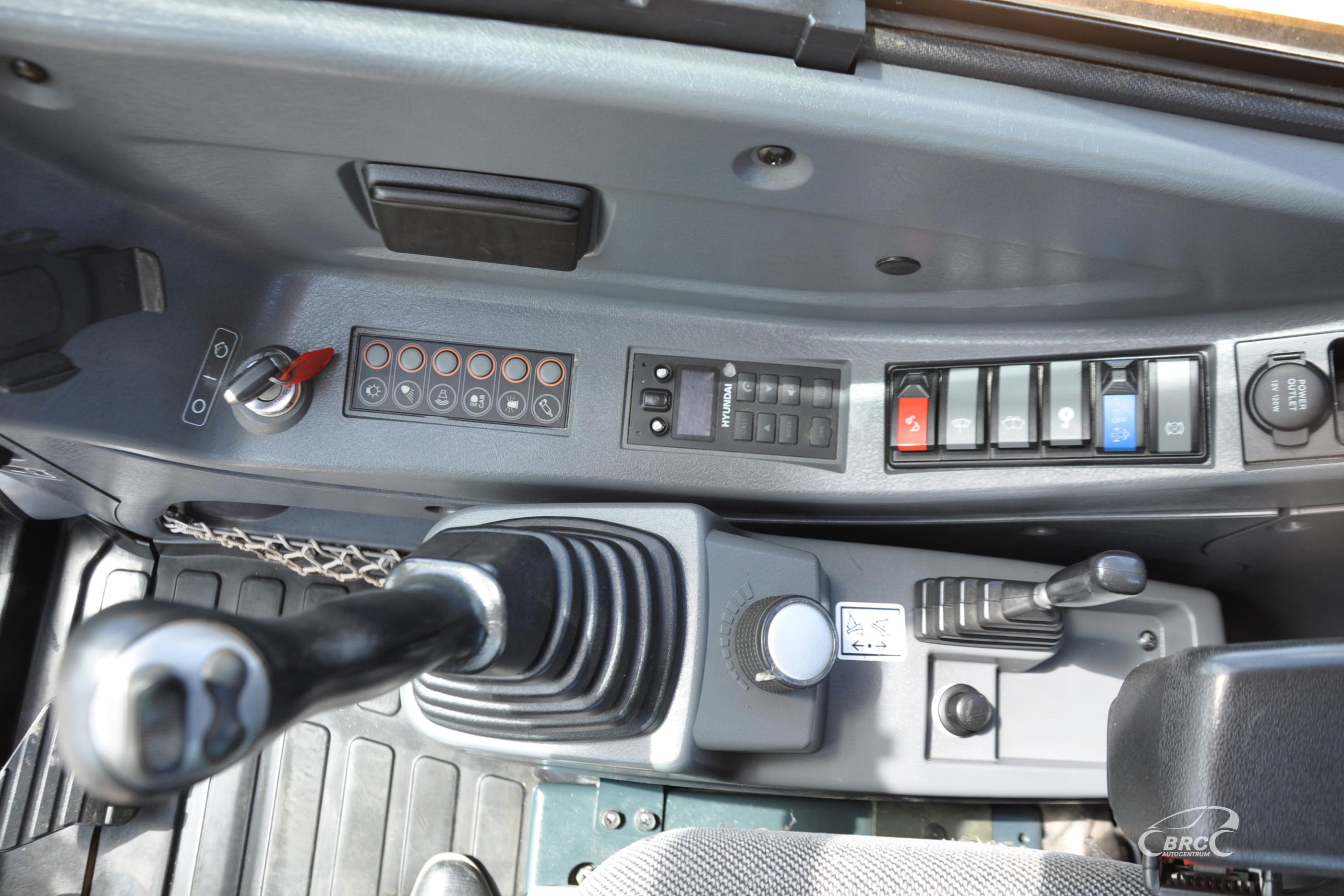 Hyundai R60CR-9A Rototilt