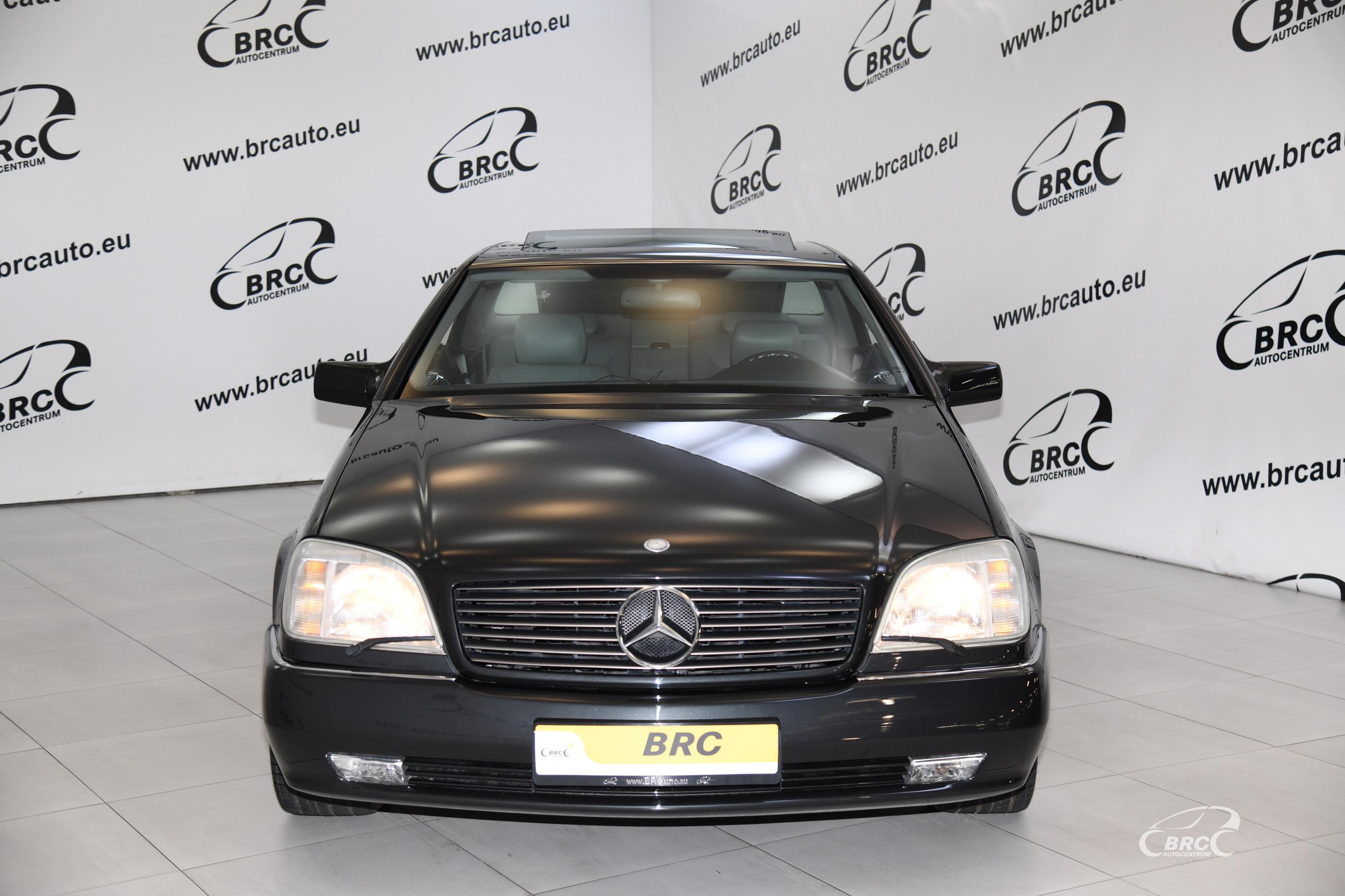 Mercedes-Benz S 600 C V12 Coupe Automatas