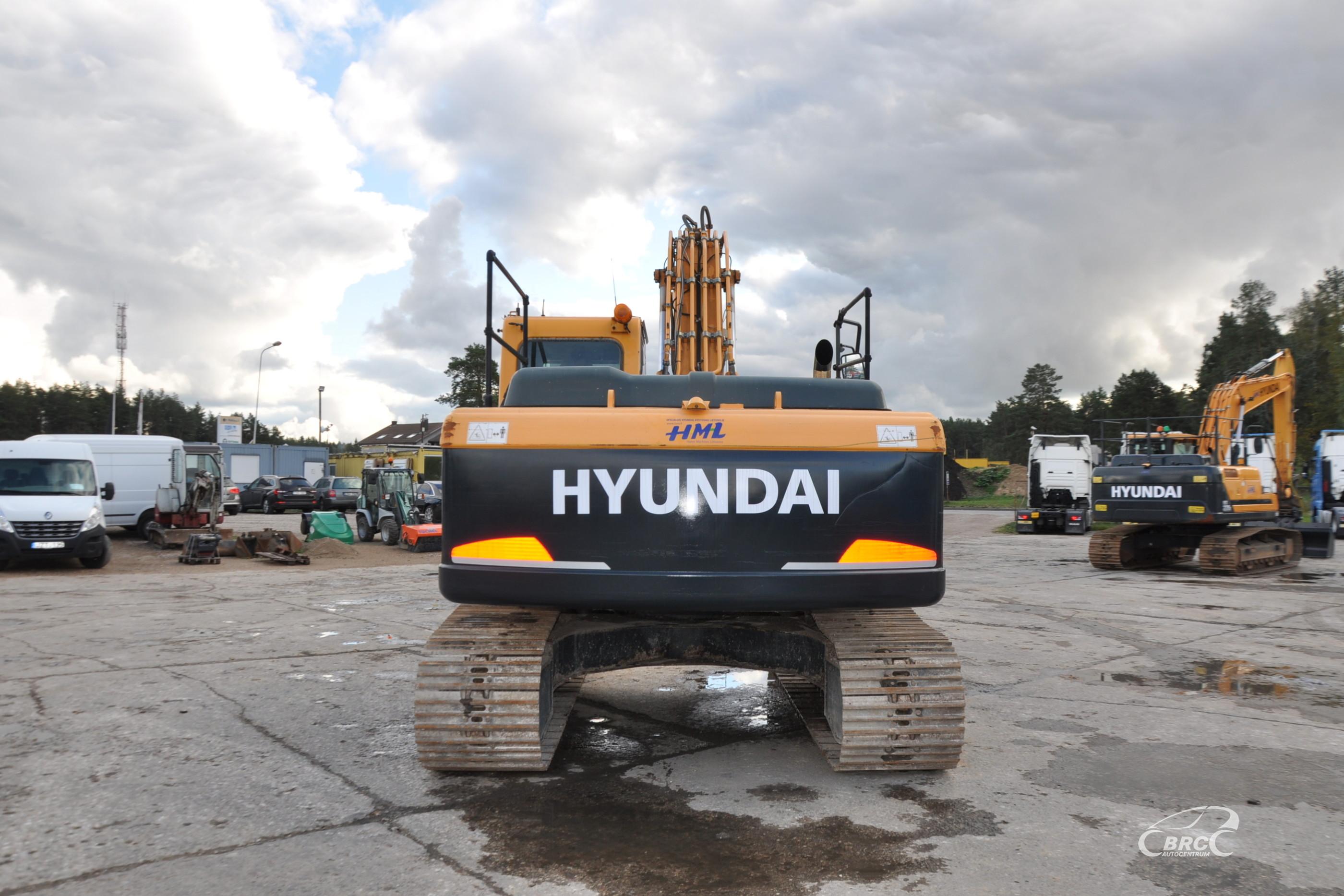 Hyundai R210LC-9 garantija