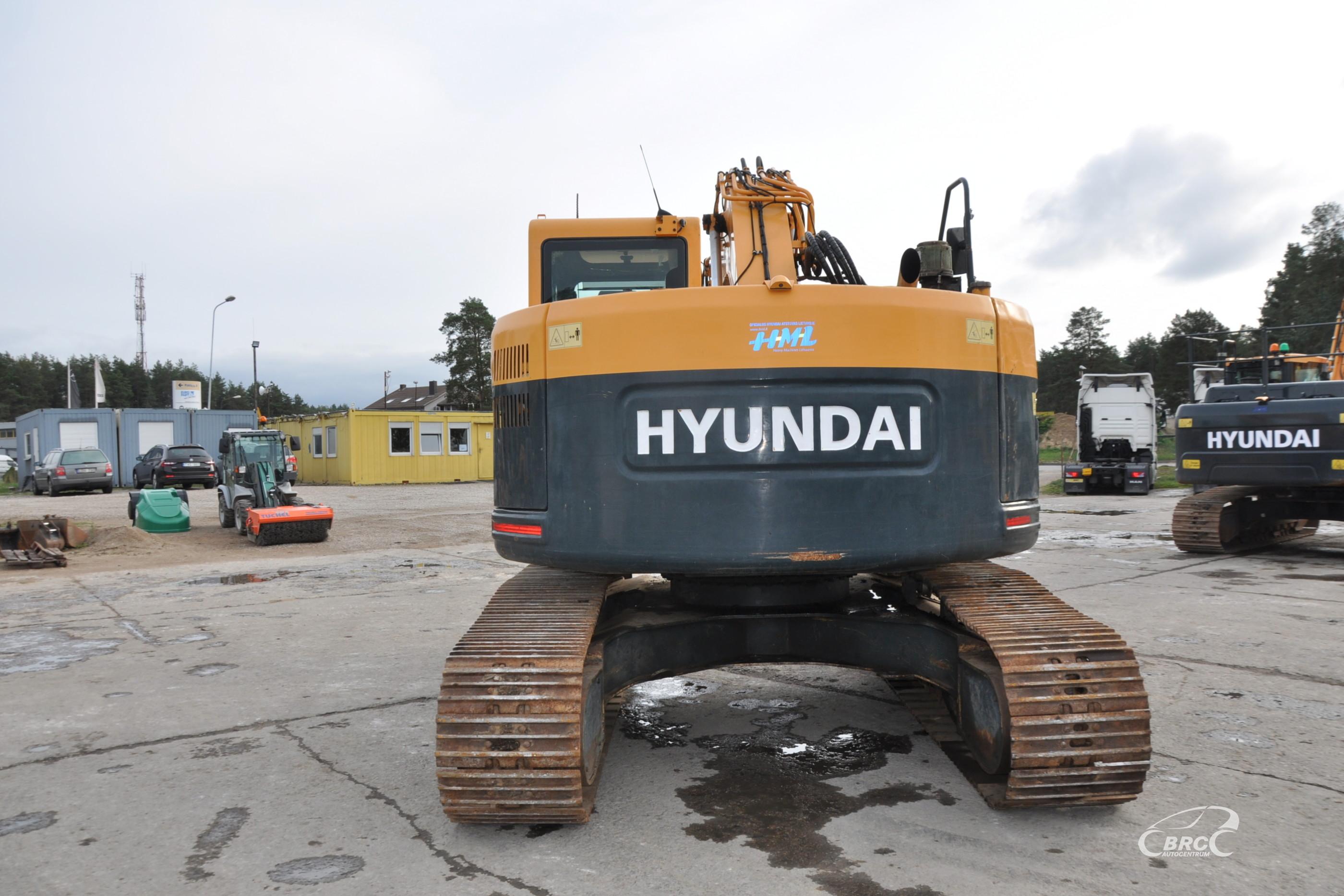 Hyundai R235LCR-9 garantija