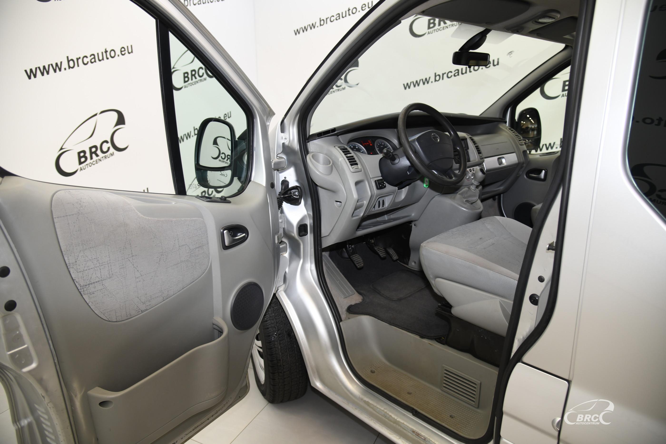 Nissan Primastar dCI 150