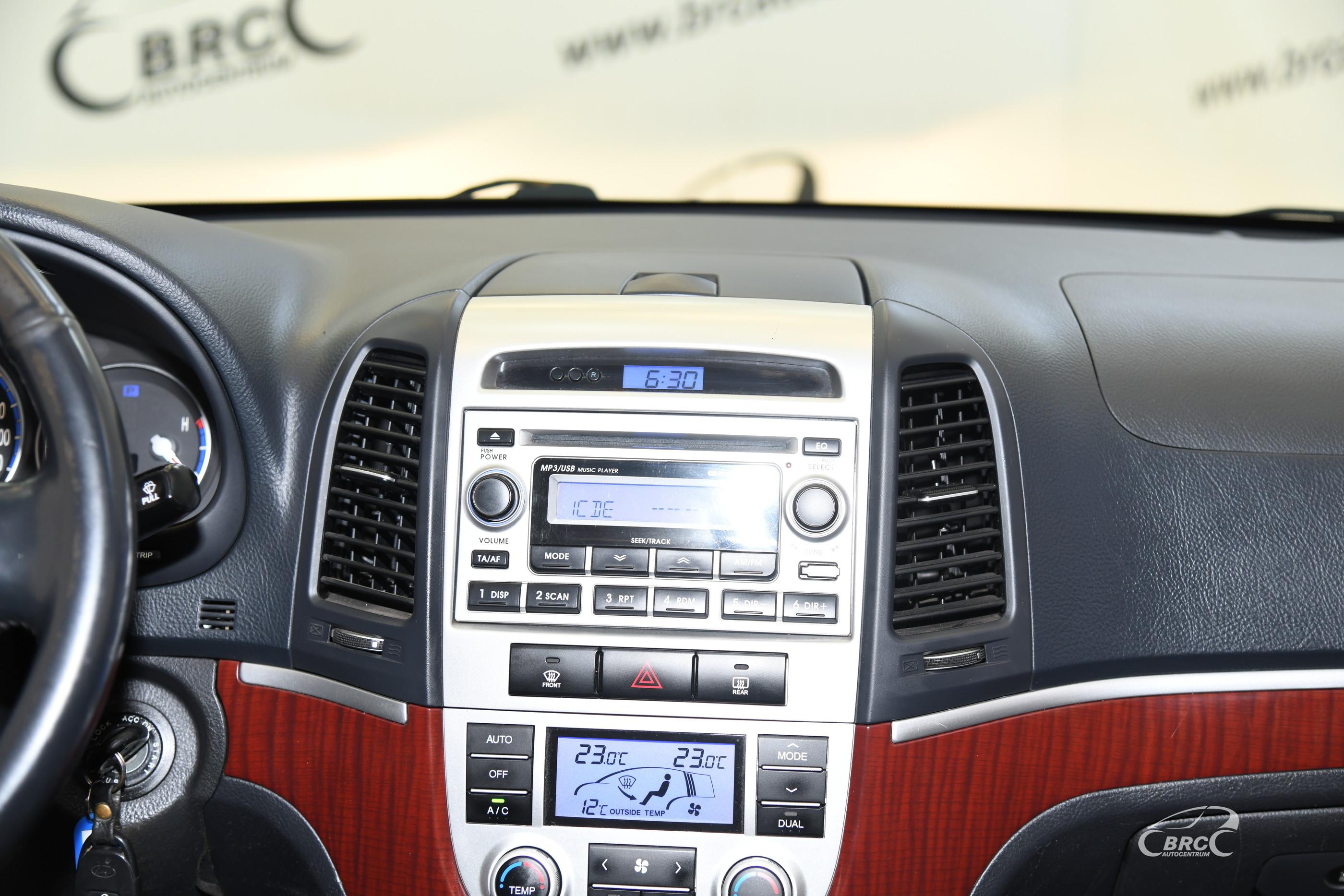 Hyundai Santa Fe CRDI 4WD Automatas