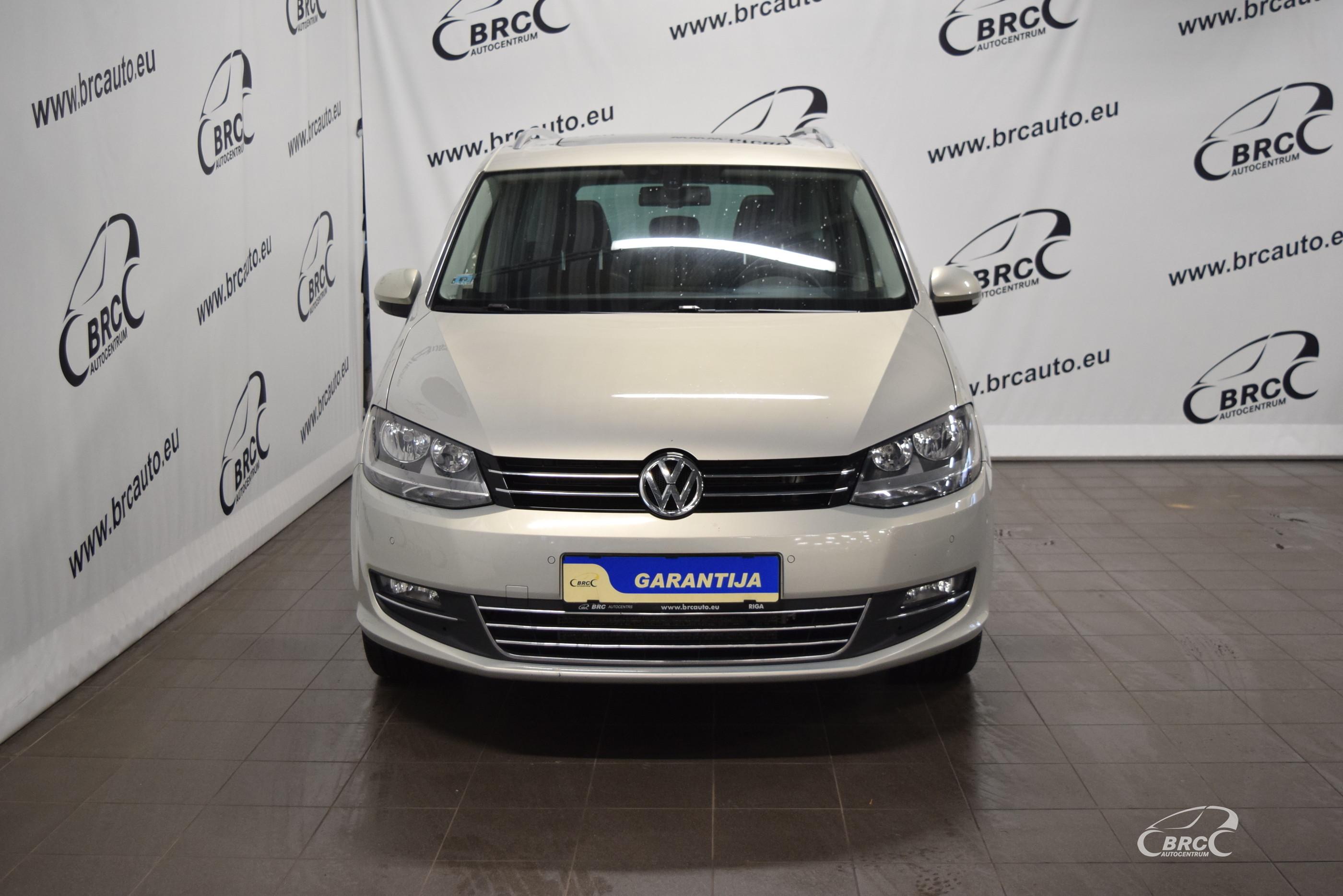 Volkswagen Sharan TDi DSG Bluemotion 7 seats