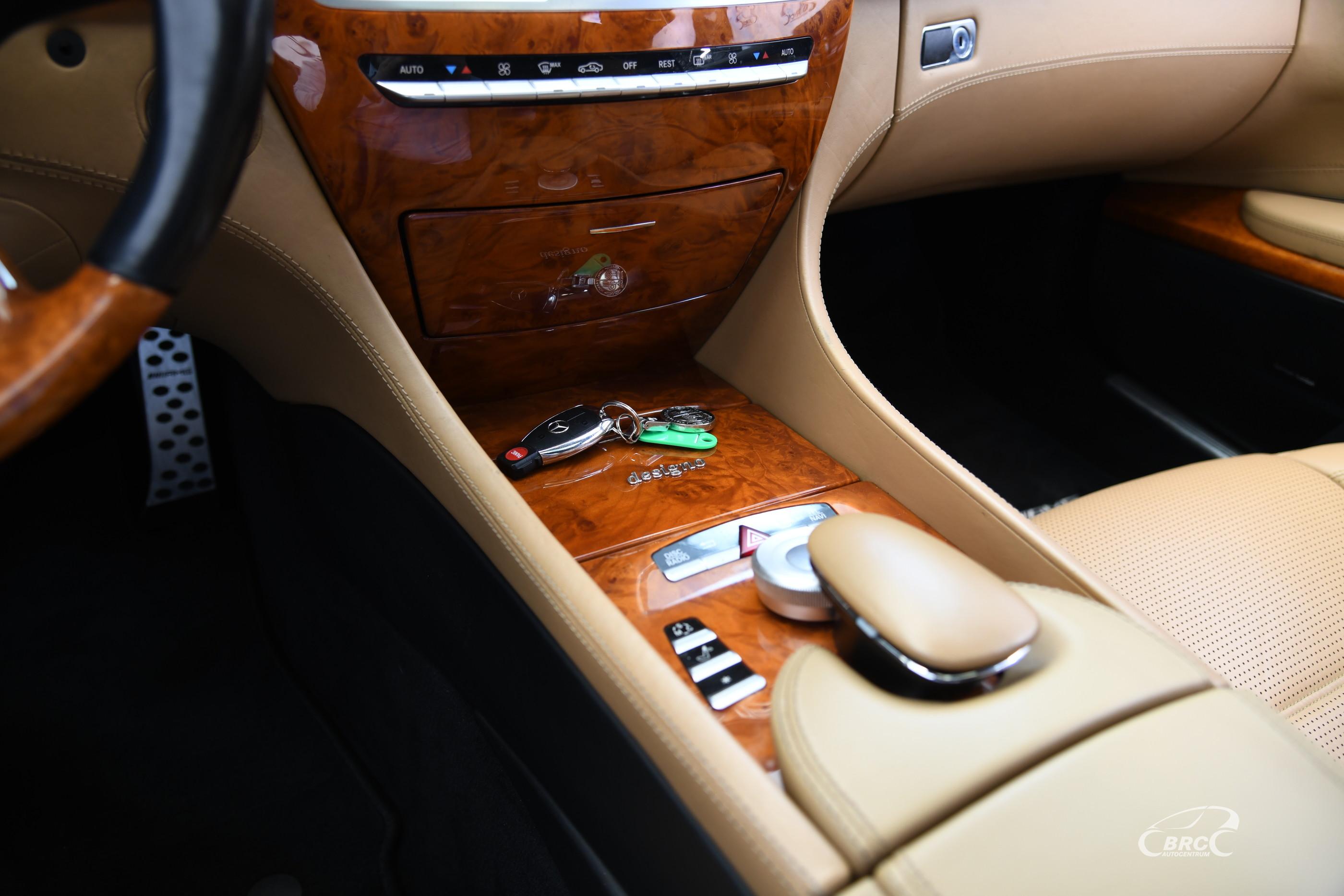 Mercedes-Benz CL 63 AMG Automatas
