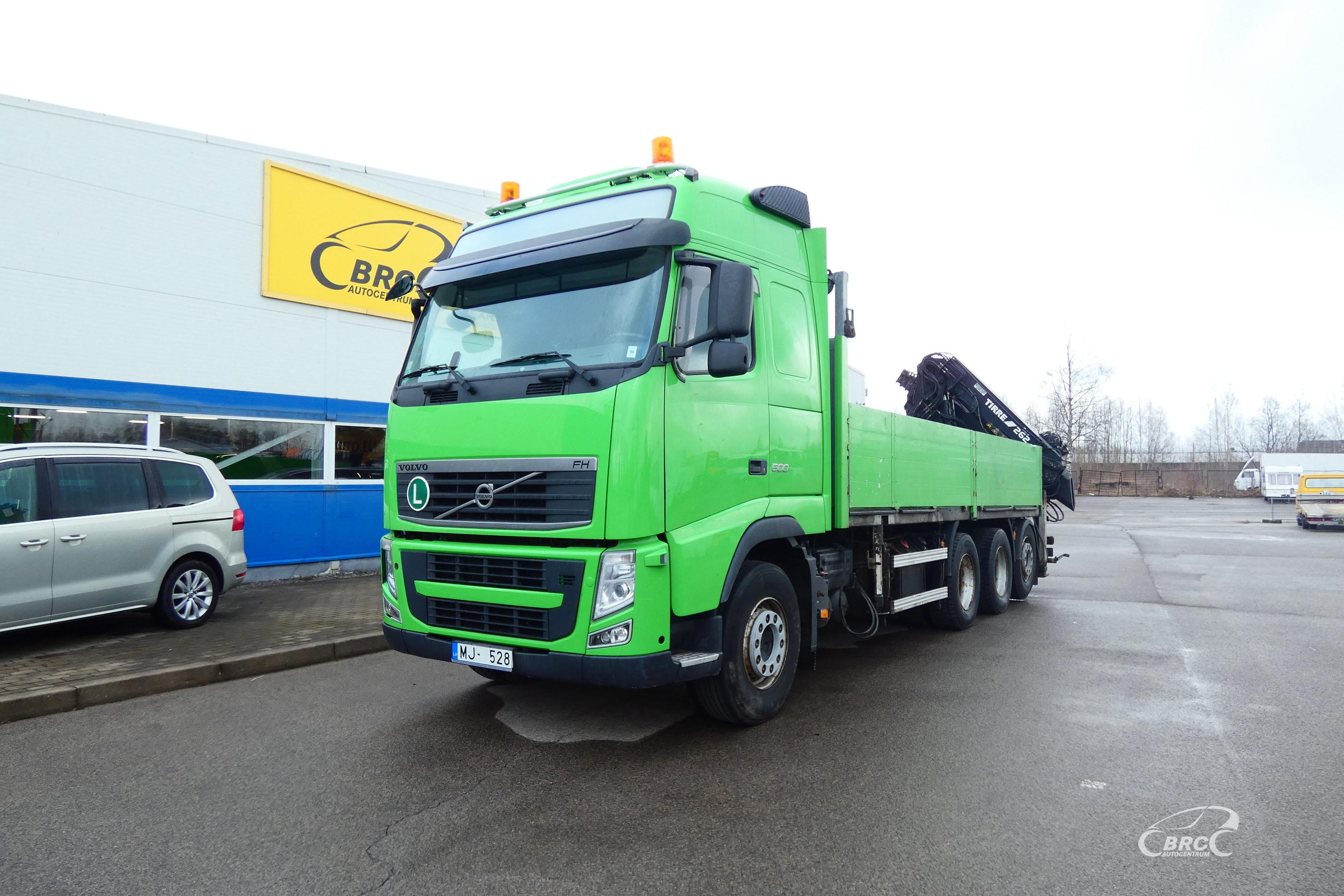 Volvo FH ar Krānu 26m