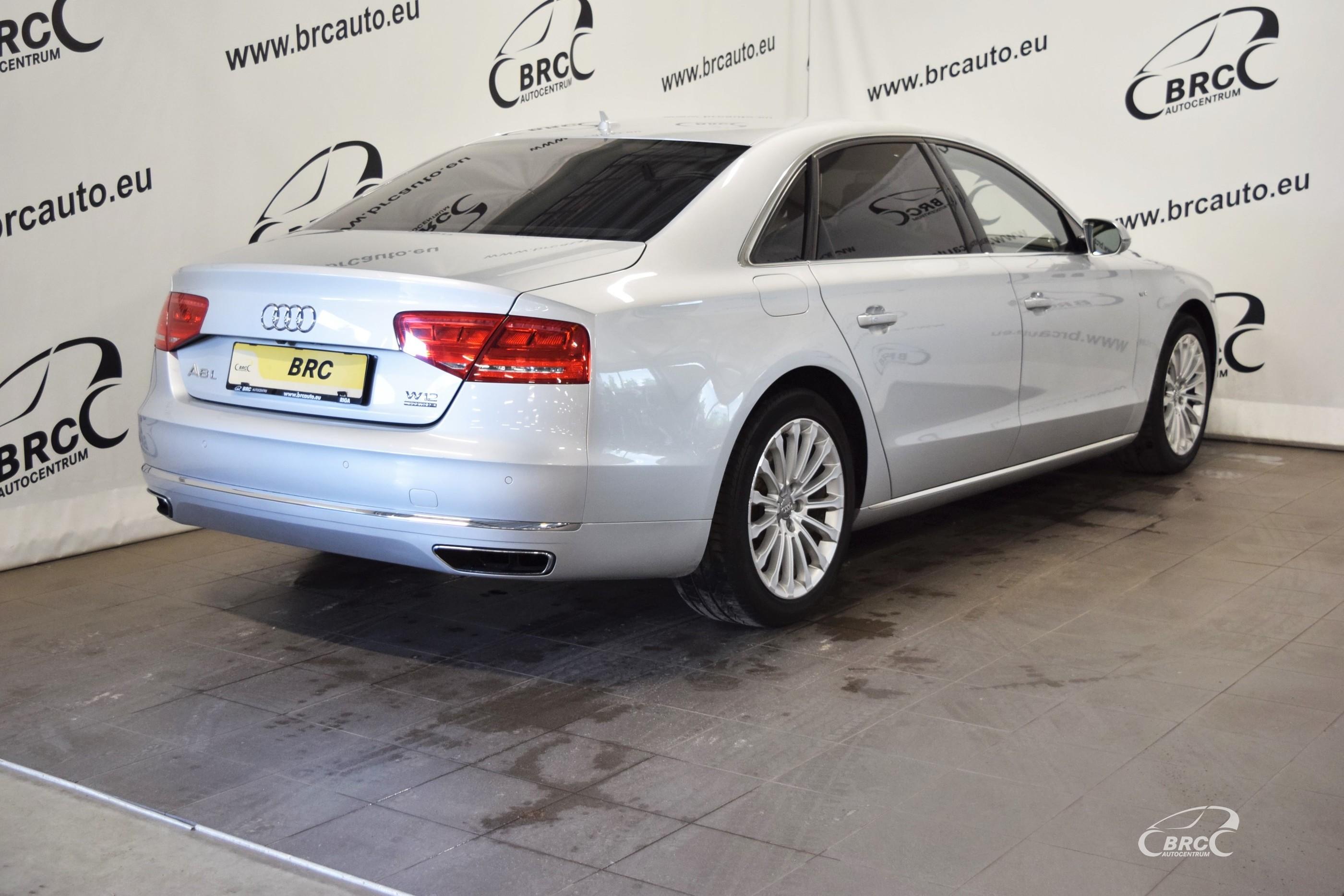 Audi A8 L Quattro W12