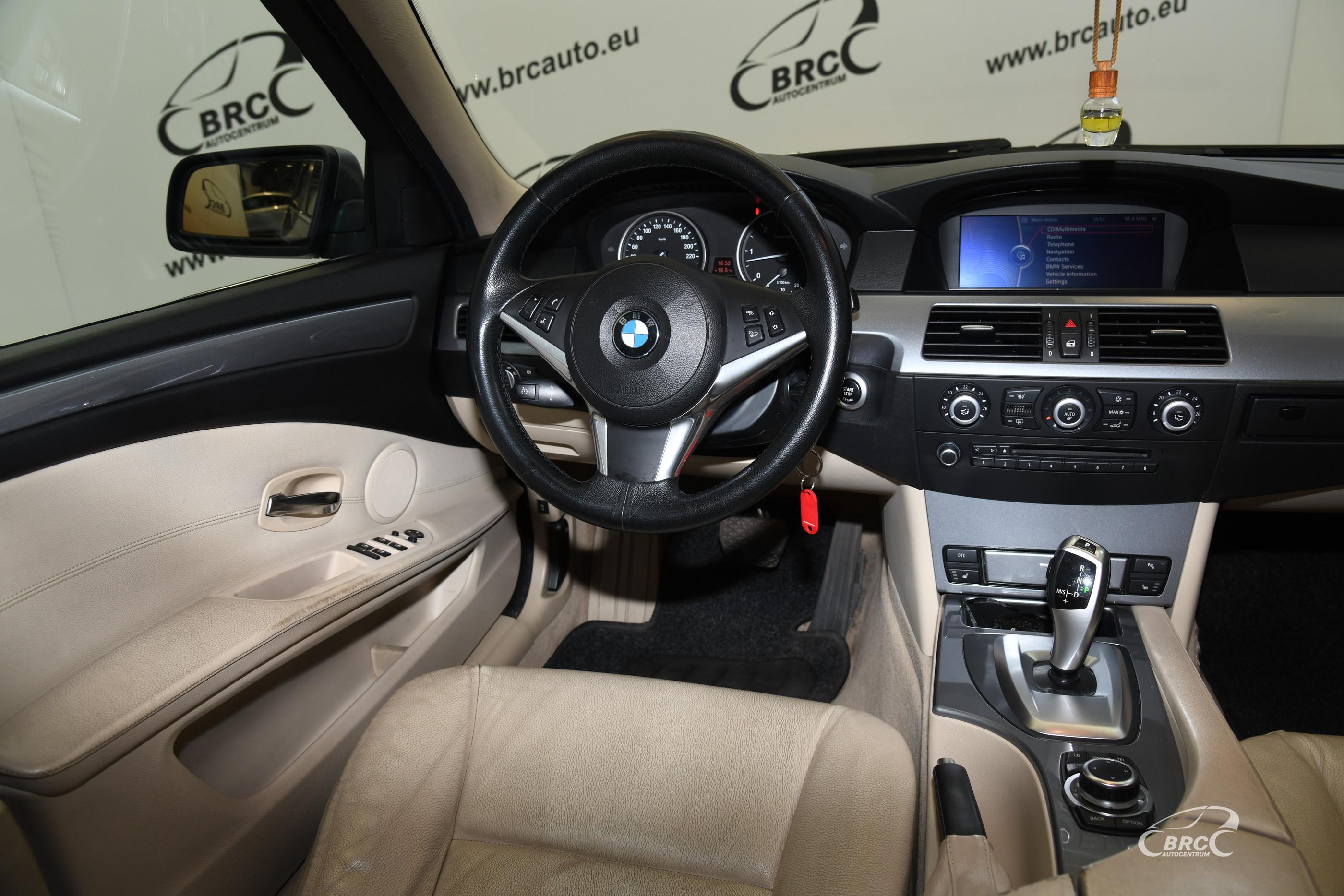BMW 525 d xDrive Touring Automatas