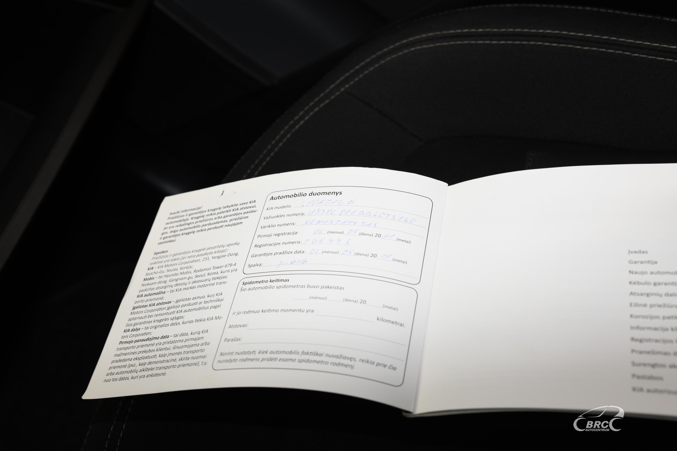 Kia Sportage 2.0 2WD Automatas