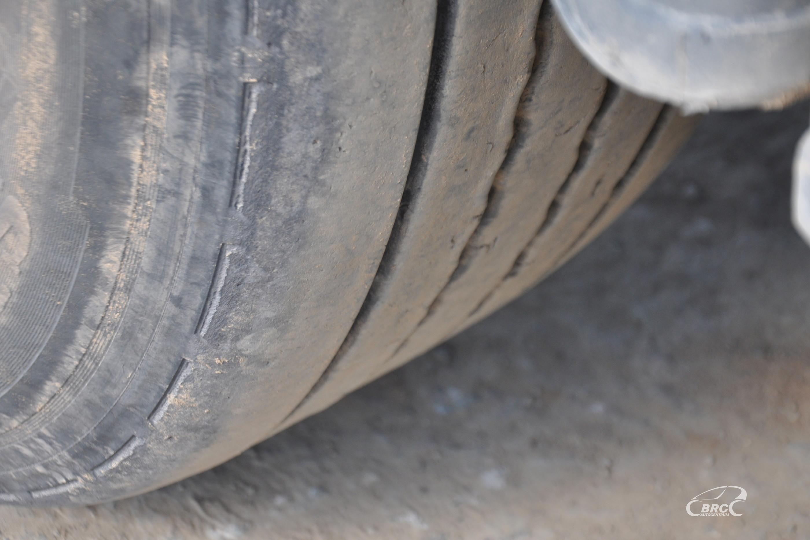 Mercedes-Benz Actros Komplekto svoris 12740KG