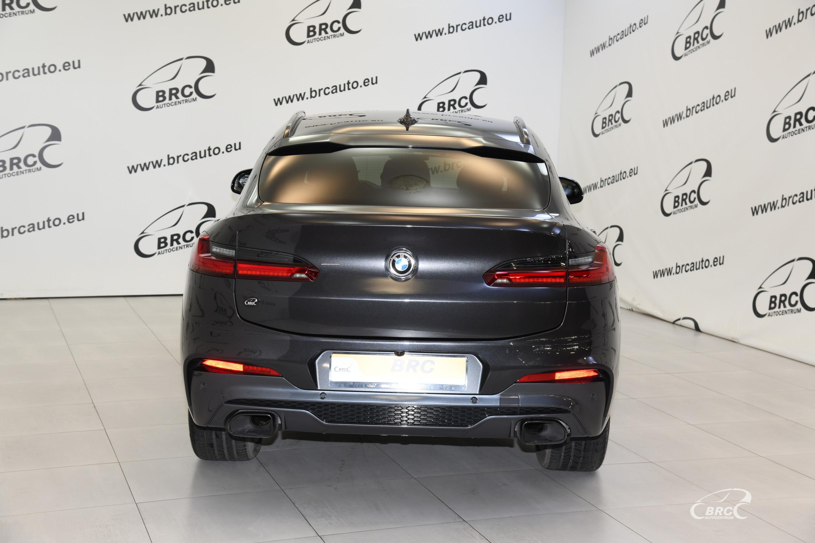 BMW X4 xDrive30d M-Sport Automatas