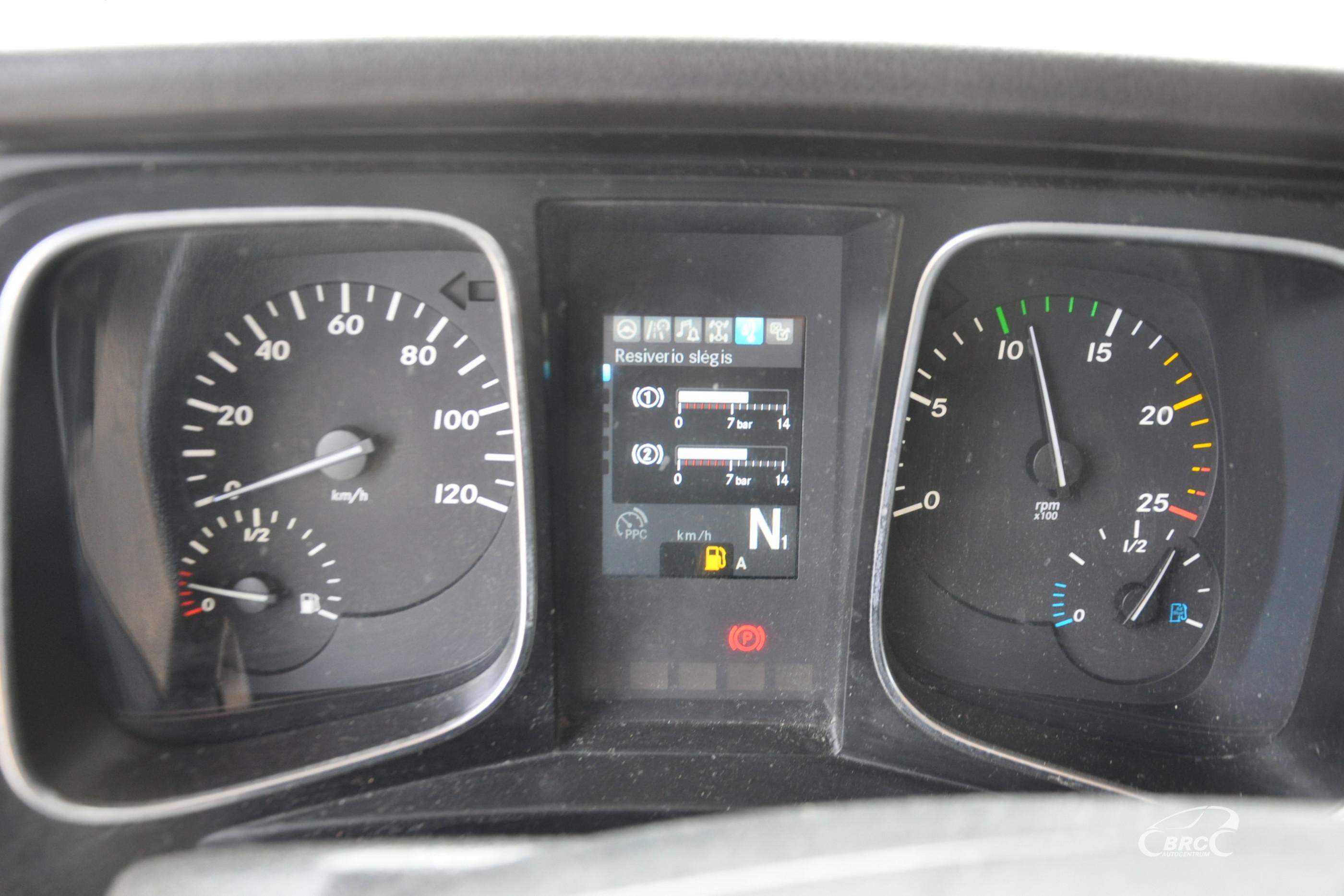 Mercedes-Benz Actros Euro6 + trailer Lohr !7units!