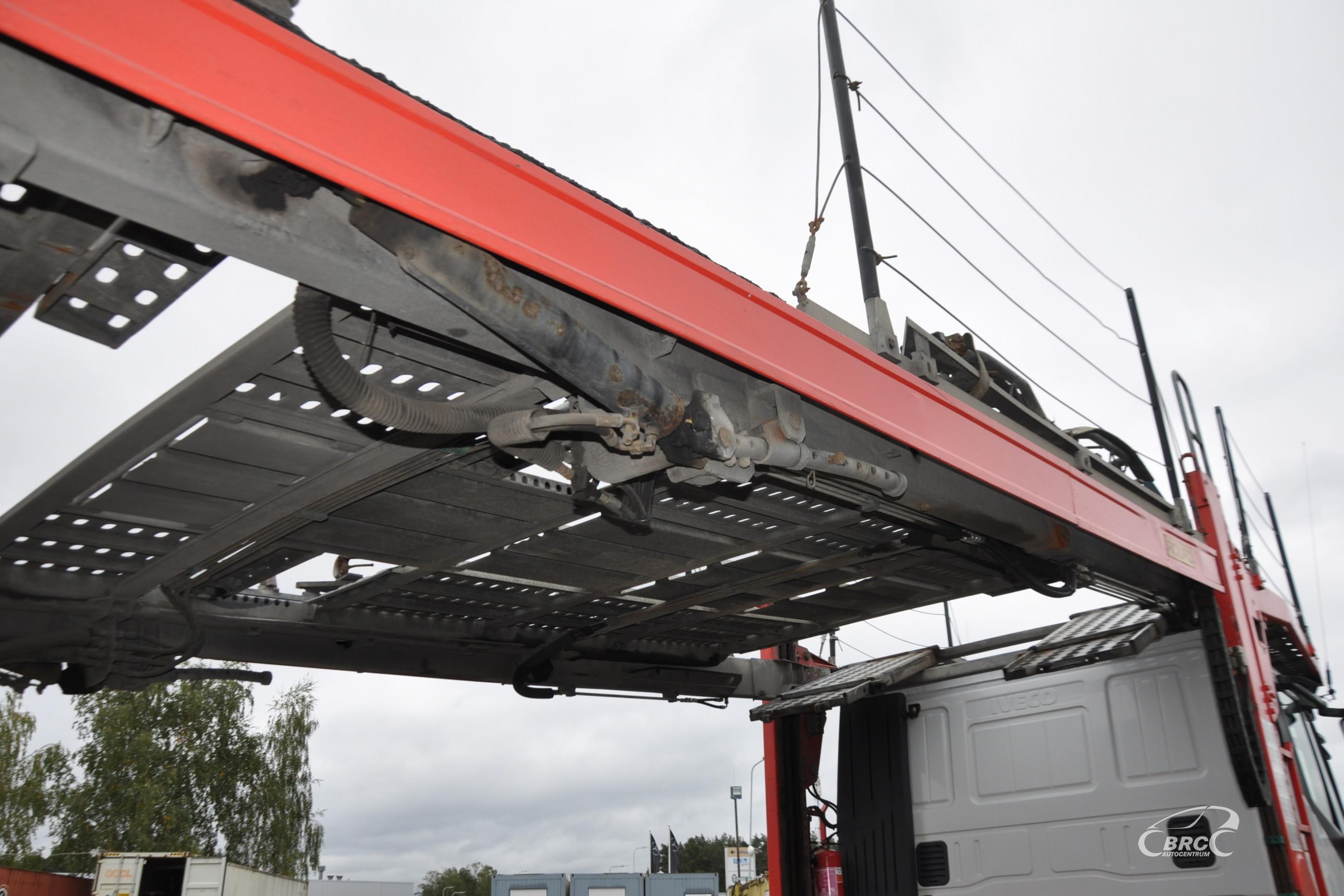Iveco Stralis Euro5 + Trailer Rolfo !8 units!