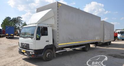 MAN 8.185 + trailer