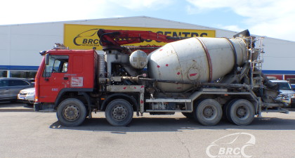 Volvo FL10 MIX+PUMP