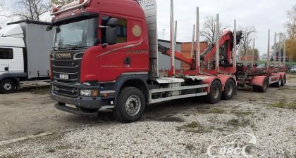 Scania R 500 + JYKI V31 (2013)