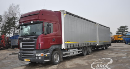 Scania R 480 + trailer Wielton