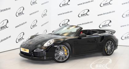 Porsche 911 Turbo S Cabrio PDK Automatas