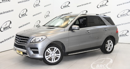 Mercedes-Benz ML 350 CDI BlueTec 4Matic Automatas