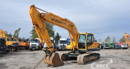 Hyundai R220LC-9S garantija
