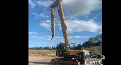Hyundai R380LC-9A demolition rig excavator