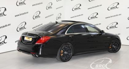 Mercedes-Benz S 65 AMG V12 BiTurbo Automatas