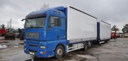 MAN TGA 26.440 Euro5 + trailer Krone