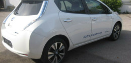 Nissan Leaf 24 kWh Automatas